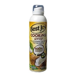 Cooking spray/ Spray de gătit cu ulei de cocos – Best Joy – 250 ml
